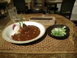 豆カレーゆっくり煮