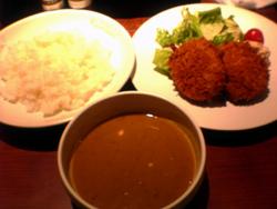 北海道肉ジャガコロッケのスープカレー